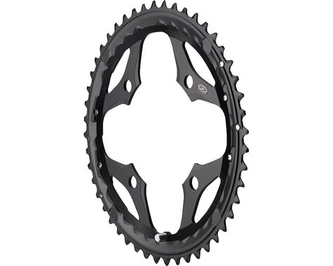 Shimano SLX M660 Outer Chainring (Black) (104mm BCD) (Offset N/A) (44T)