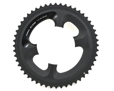 Shimano FC-5800L Chainring (Black) (110mm BCD) (Offset N/A) (52T)