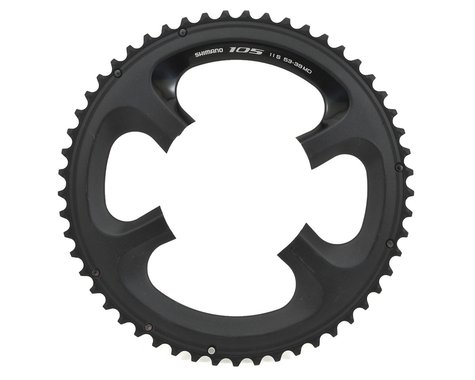 Shimano 105 FC-5800L Outer Chainring (Black) (110mm BCD) (Offset N/A) (53T)