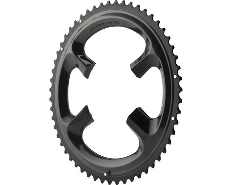 Shimano Dura-Ace R9100 Chainring (Black) (110mm BCD) (Offset N/A) (55T)