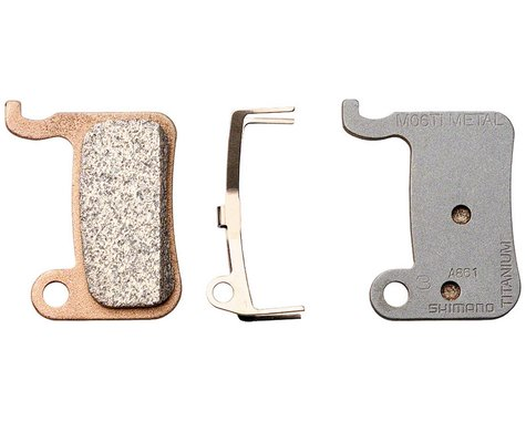 Shimano M06Ti Disc Brake Pads (XTR/Saint/SLX/LX/Road) (Metal)