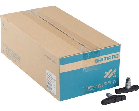 Shimano S65T V-Brake Pads (Black) (50 Pairs)