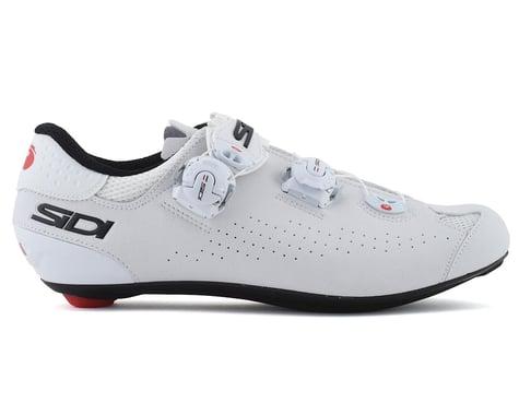 Sidi Genius 10 Road Shoes (White/Black) (48)