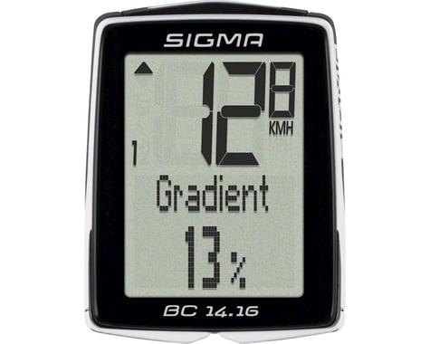 Sigma BC 14.16 Bike Computer (Black) (Wired)