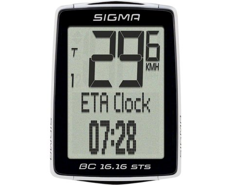 Sigma BC 16.16 STS Cycling Computer (Wireless)