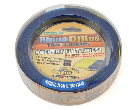 "Skye Supply Rhino Dillo 26/24"" Tire Liner Tube Protector (Blue) (26/24x1-3/8)"