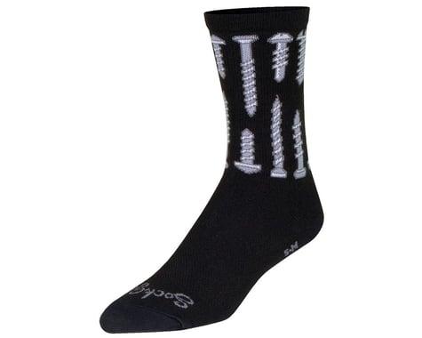 "Sockguy 6"" Socks (Screw It) (S/M)"