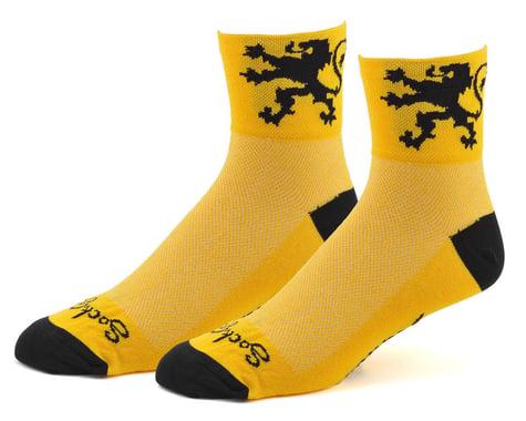 "Sockguy 3"" Socks (Lion Of Flanders) (S/M)"