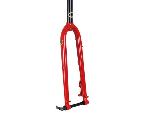 Soma Wolverine Unicrown CX Fork (Red) (Disc) (15mm TA)