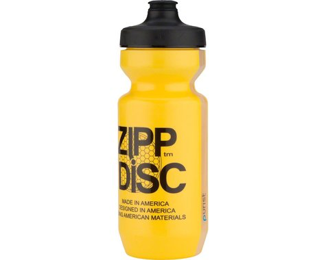 Zipp Water Bottle (Disc Yellow) (22oz)