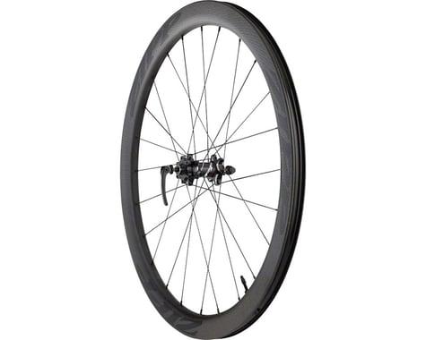 Zipp 303 Carbon Clincher Tubeless Front Wheel (Black Decal) (700c) (6-Bolt Disc)