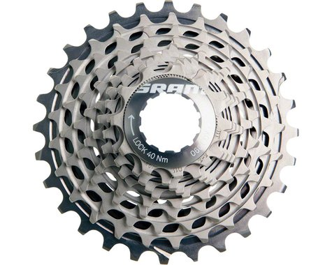 SRAM Red XG-1090 X-Dome 10-Speed Cassette (Silver)