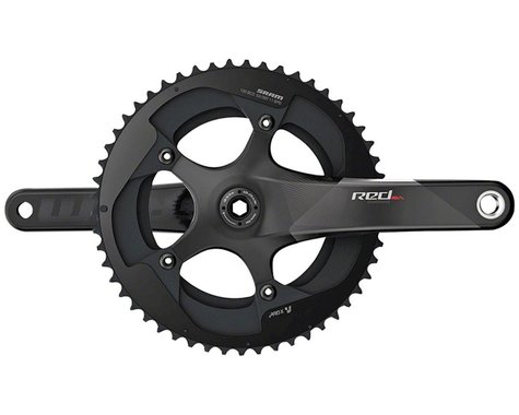 SRAM Red Compact Crankset (Black) (2 x 11 Speed) (GXP Spindle) (C2) (165mm) (50/34T)