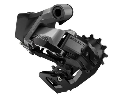 SRAM Rival eTap AXS Rear Derailleur (Black) (12 Speed) (Medium Cage)