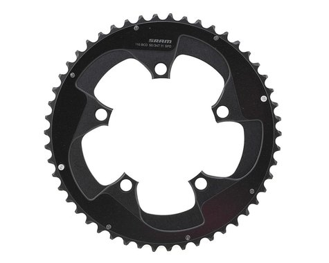 SRAM Red 22 YAW Chainring with Two Pin Positions (110mm BCD) (Offset N/A) (50T)