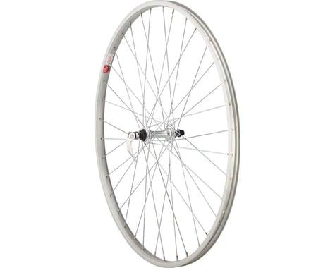 """Sta-Tru Front Wheel (Silver) (27"""" x 1-1/4"""") (36 Spokes) (Alloy Rim) (Quick Release)"""