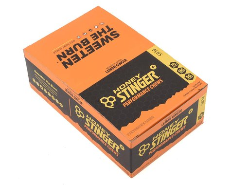 Honey Stinger PLUS+ Performance Chews (Lemon Ginger)