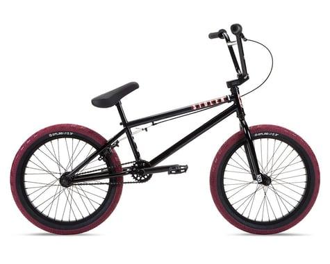 "Stolen 2021 Casino XL 20"" BMX Bike (21"" Toptube) (Black/Blood Red)"