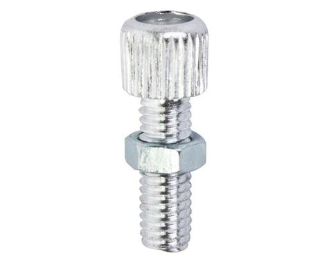 Sunlite Barrel Adjuster With Lock Nut (Silver) (1)