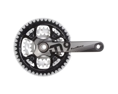 Sunrace FCM954 Crankset (Black) (3 x 9 Speed) (175mm) (44/32/22T)