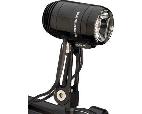 Supernova E3 Pro 2 Dynamo Headlight (Black)
