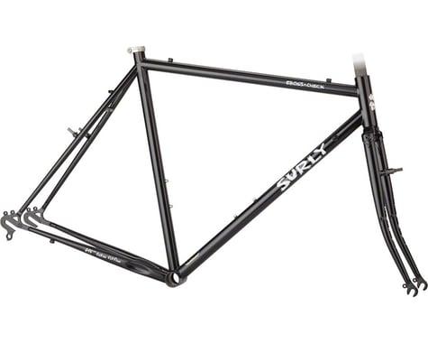 Surly Cross Check Frameset (Gloss Black) (54cm)