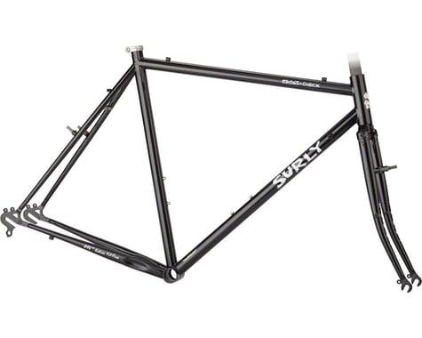 Surly Cross Check Frameset (Gloss Black) (56cm)