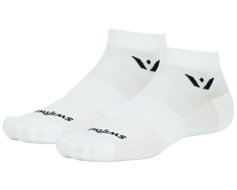 Swiftwick Aspire One Socks (White) (S)