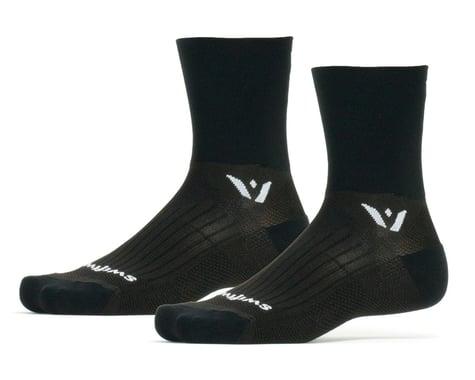 Swiftwick Performance Four Socks (Black) (XL)