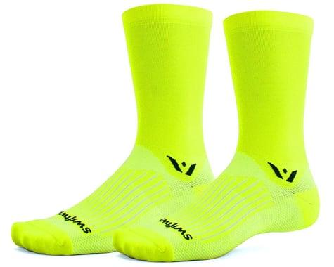 Swiftwick Aspire Seven Sock (Hi-Viz Yellow) (S)
