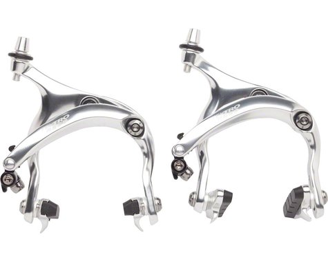 Tektro R559 Long Reach Road Calipers 55-73mm Recessed Nut Mount, Silver