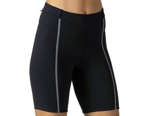 Terry Women's Bella Short (Black/Grey) (Regular Inseam) (S)