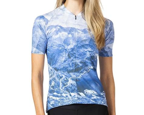 Terry Women's Soleil Short Sleeve Jersey (Nivolet/Blue) (S)