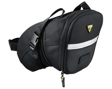 Topeak Aero Wedge Bike Saddle Bag w/Strap Mount (L)