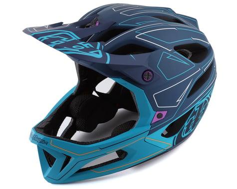 Troy Lee Designs Stage MIPS Helmet (Pinstripe Marine) (M/L)
