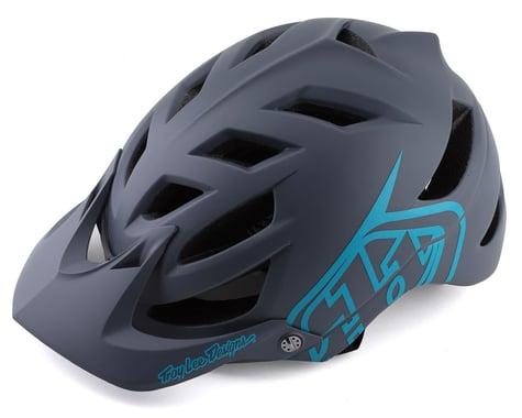Troy Lee Designs A1 Helmet (Drone Grey/Blue) (S)