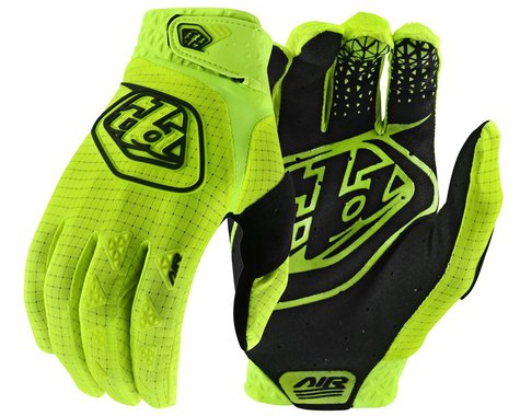 Troy Lee Designs Air Gloves (Flo Yellow) (S)