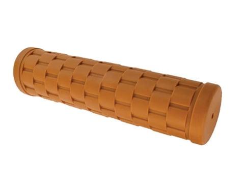Velo Orange Basket Weave Grips (Honey) (Pair)