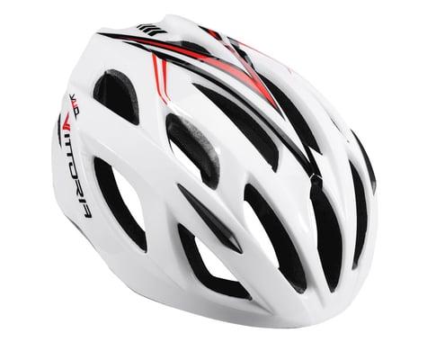 Vittoria V110 Helmet (White/Red/Black)