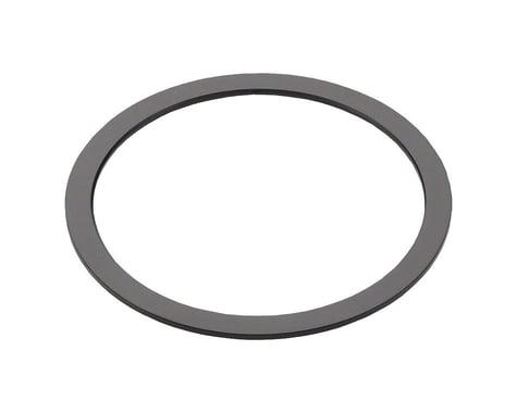 Wheels Manufacturing Black Aluminum Bottom Bracket Spacer (BSA or Italian) (0.7mm)