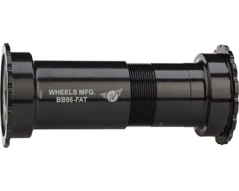 Wheels Manufacturing Fat Bike Bottom Bracket (Black) (PF41) (121mm)