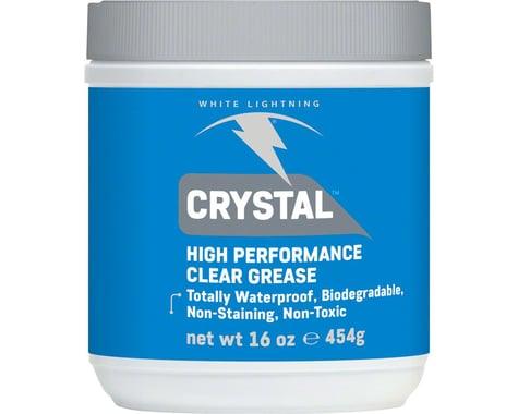 White Lightning Crystal, clear grease -16oz (1lb) tub (16oz)