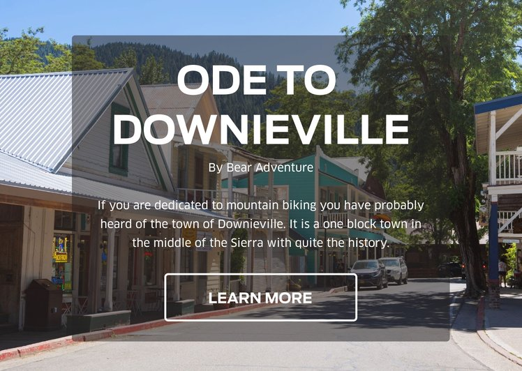 Ode to Downieville