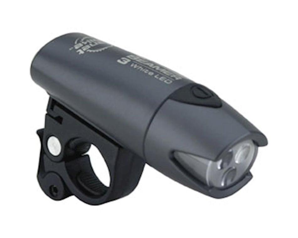 Planet Bike Beamer 3 Bicycle Headlight//Black